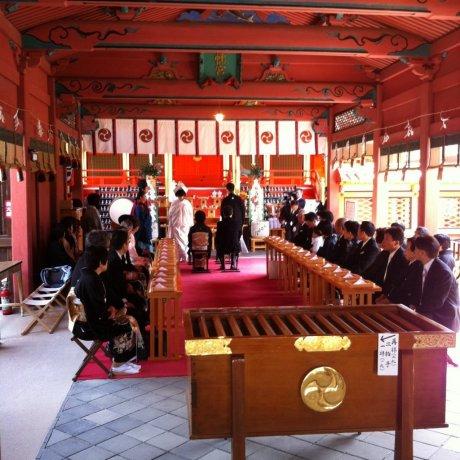 Isaniwa Shrine in Dogo