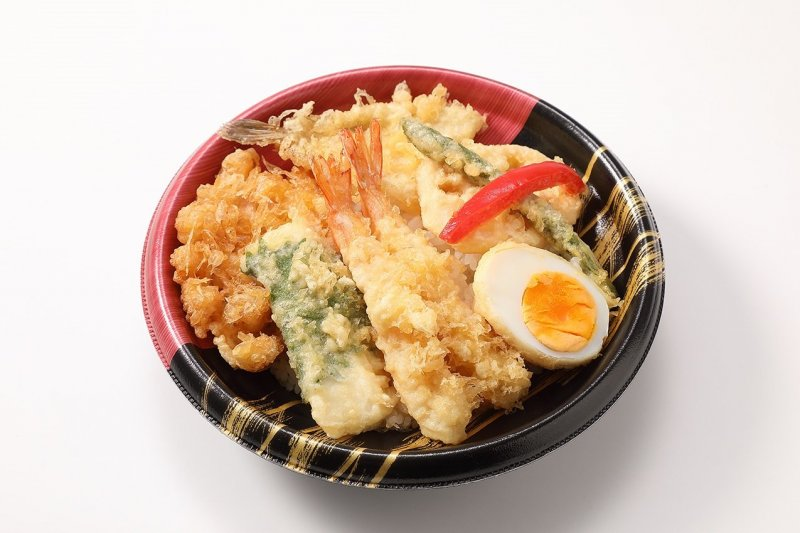 Just one of the donburi varieties on offer at the event