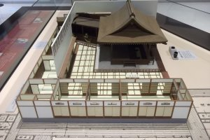 A model of a traditional theater