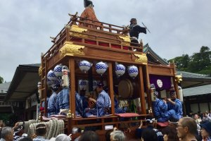 Narita Gion festival float