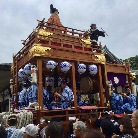 Chiba Prefecture Festivals and Elaborate Dashi Floats