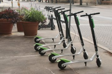 Regulations Ease on E-scooters During Test Period