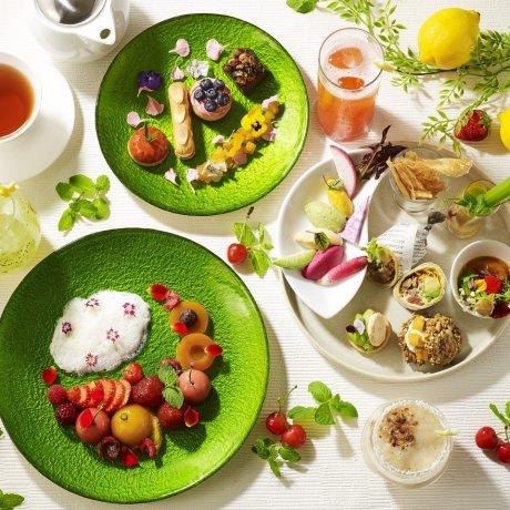 Playful Colors Vegan Afternoon Tea