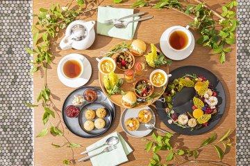 Flower Garden Vegan Afternoon Tea