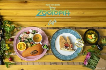 Zootopia Pop-Up Cafe