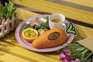 Themed Zootopia sandwich