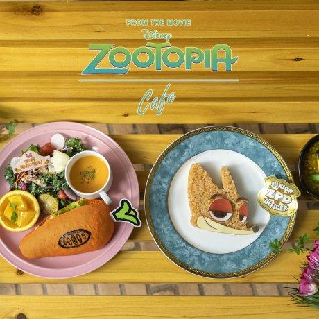 Zootopia Pop-Up Cafe: Nagoya