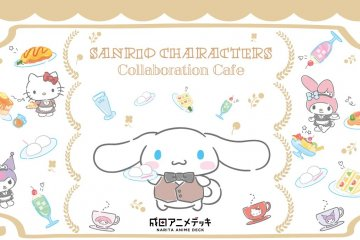 Sanrio Characters Collaboration Cafe