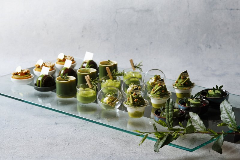 Around 40 different matcha-based desserts will be on offer