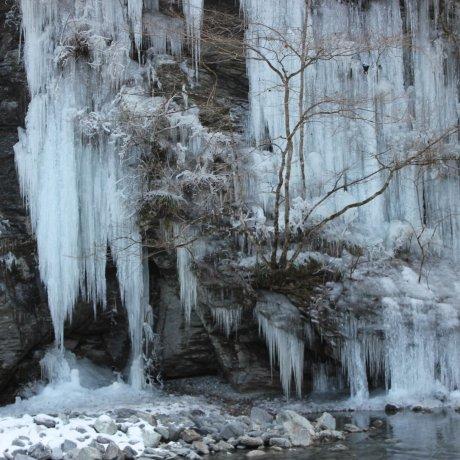 แท่งน้ำแข็งที่  Misotsuchi