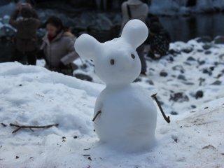 Snowman in Chichibu