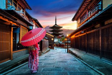 You'll love the old-Japan feel.