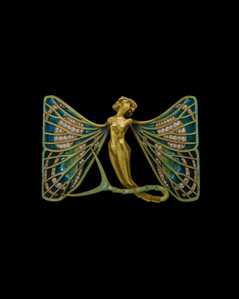 Lalique's works were regularly inspired by nature