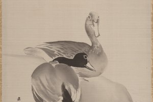 Kawabata Gyokushō was known for works depicting birdlife, some of which will be displayed at this event