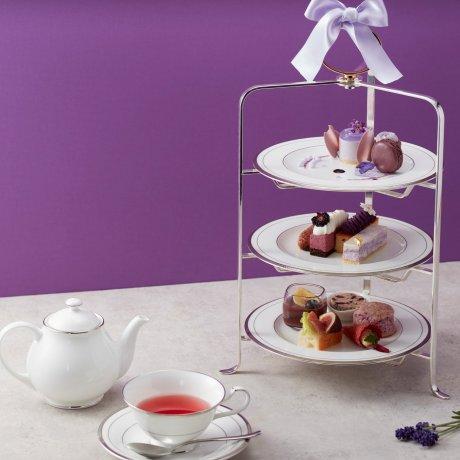 Purple Afternoon Tea