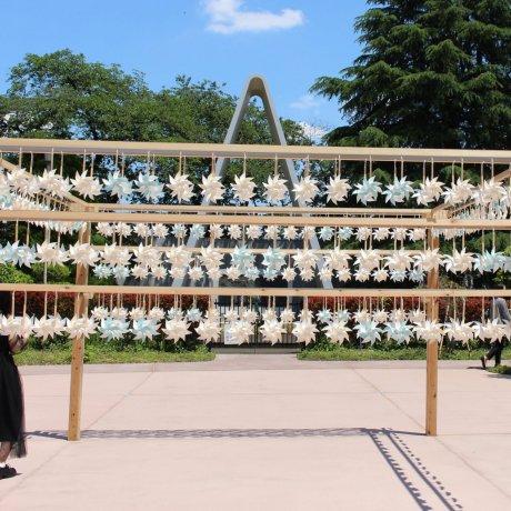 Pinwheels at Kawagoe Hikawa Shrine
