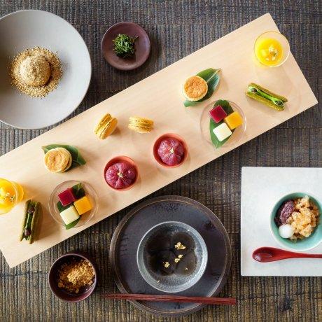 Japanese Sweets Afternoon Tea