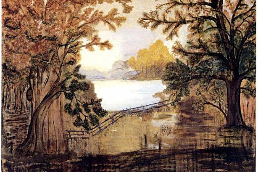 An example of Grandma Moses\' artwork