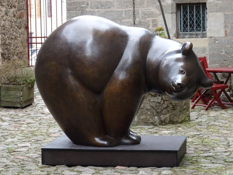 An example of Pompon's sculpture work