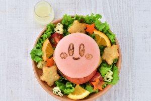 Kirby Burger and Salad