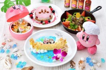 Kirby Summer Cafe in Tokyo and Fukuoka