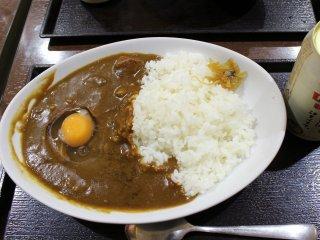 Рис с карри - одно из самых популярных блюд в Японии