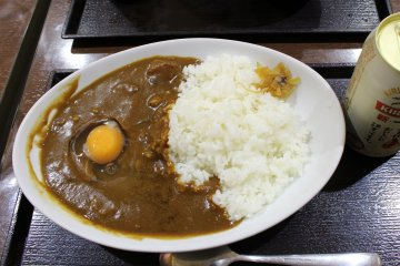 Curry rice is one of the many popular dishes