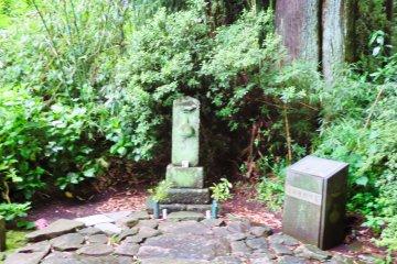 Statue along the Tokaido Road, Shizuoka Prefecture