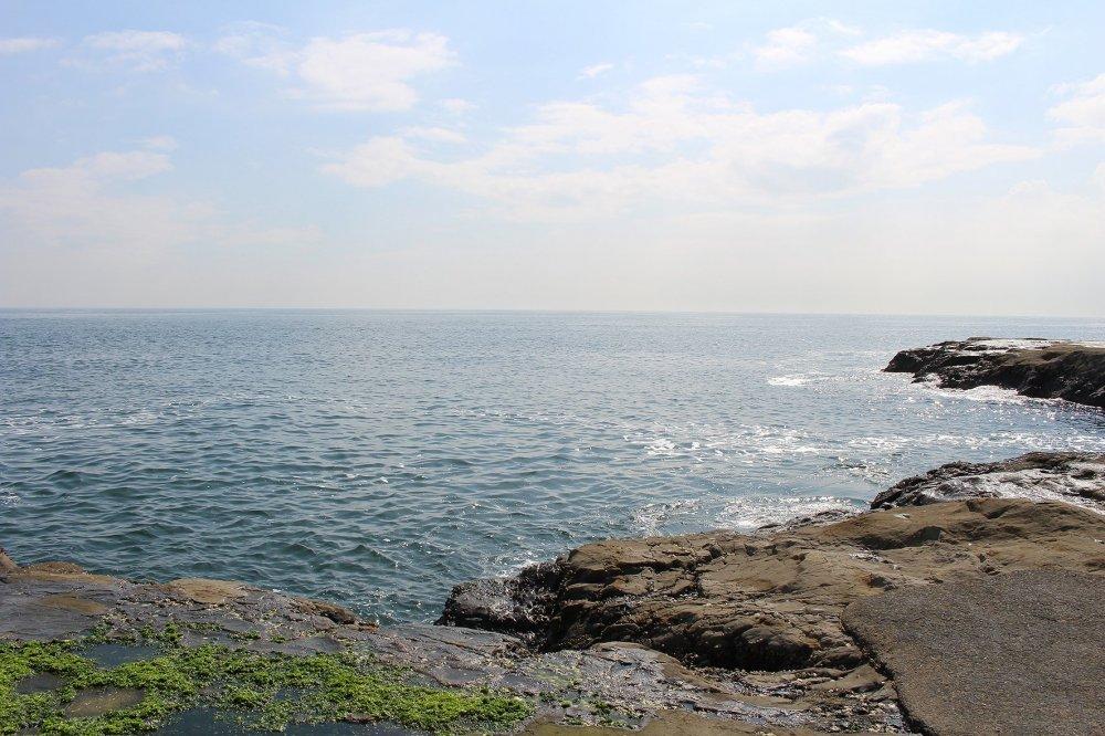 Sagami Bay in Enoshima