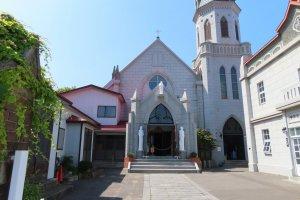 Catholic Motomachi Church Western Area of Hakodate