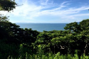 Looking northwest to Tokyo Bay