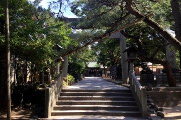 Ohi Shrine - Funabashi Daijingu