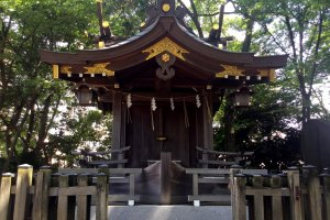 Funatama Shrine, protector of sailors and fishers