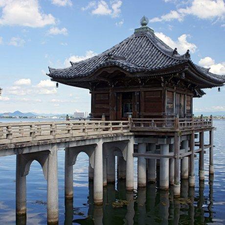 琵琶湖:天水一色,日本最大的湖泊