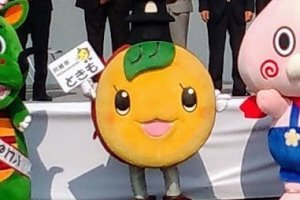 Tokimo, the mascot of Kawagoe