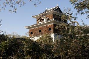 The mock Hitachi Yamagata Castle