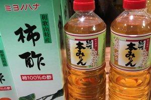 Persimmon vinegar is not as famous yet as apple vinegar.