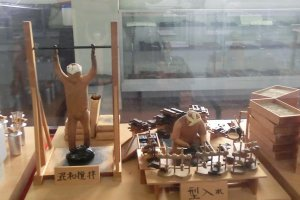 potter at Ganko  Ittetsu Nagaya store