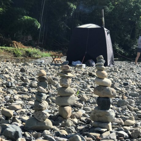Temple Camp in Kumano