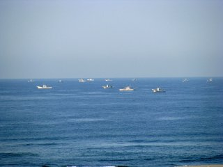Океан вокруг - важный символ Японии