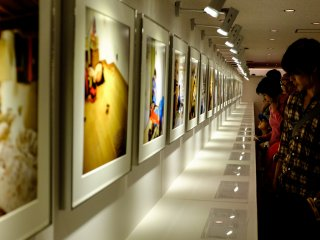 No shortage of stunning photos to view at the Tokyo Photo 2013 exhibition