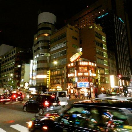 Phố đêm Shinbashi