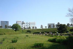 ใจกลางสวน Daiba