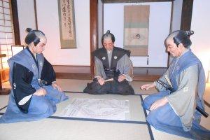 Phòng Karō Assembly bên trong tòa thành