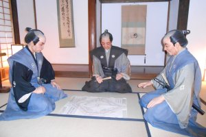 The Karō Assembly Room inside the castle