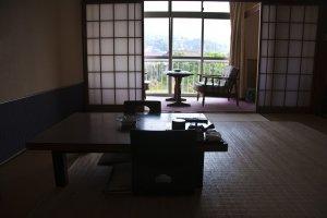 Guest room at Kotobukiya Ryokan