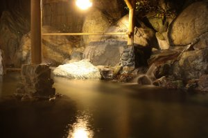 Experience Tanigawa's silky smooth hot spring water