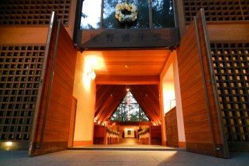 The warm and welcoming interior of Karuizawa Kogen.
