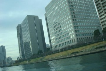 <p>View from the Sumida River</p>