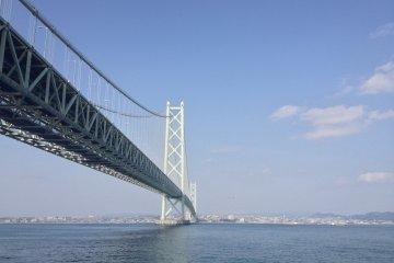 <p>Akashi Kaikyo Bridge</p>